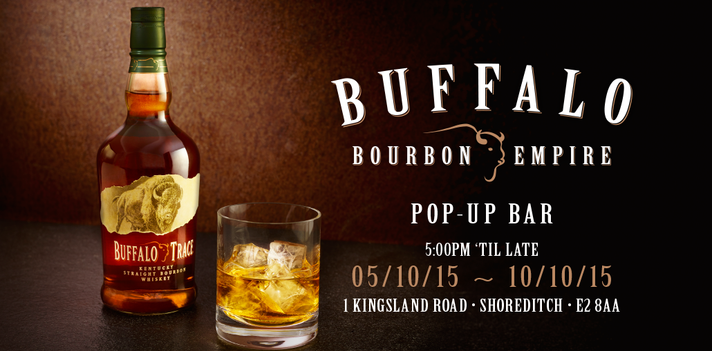 Buffalo Bourbon Empire Pop-up Bar