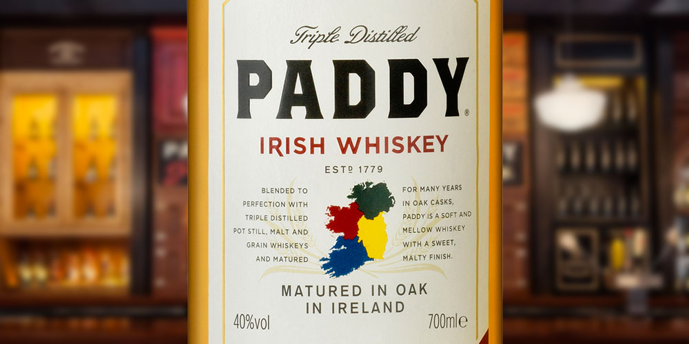 Hi-Spirits Ireland to distribute Paddy Whiskey